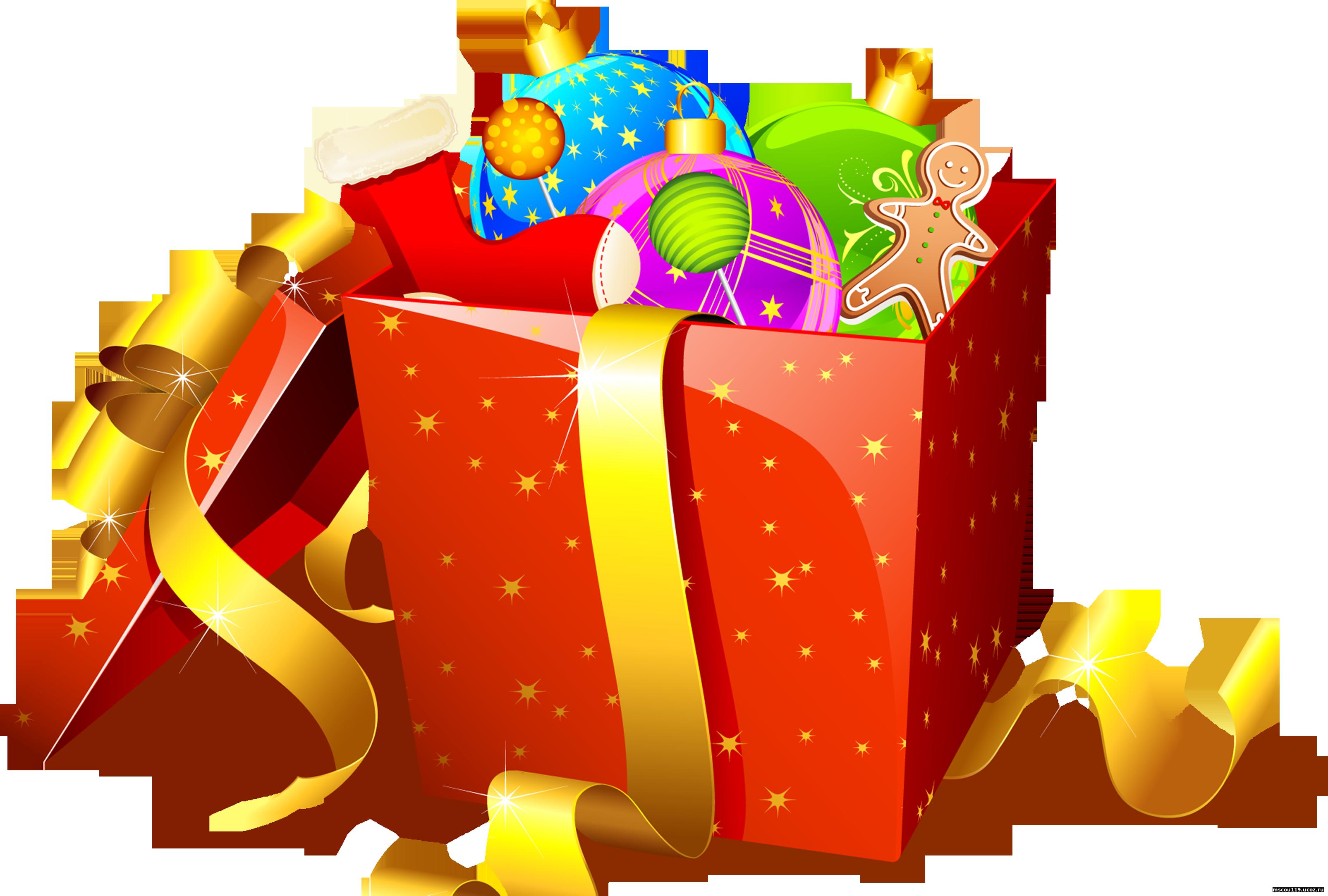 Новогодние подарки в картинках для детей 79